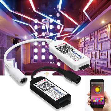 5 Pins Smart LED RGB RGBW Bluetooth Controller for 5050 3528 Strip Light DC5-24V