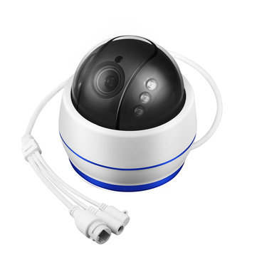 D77W 2MP WiFi ONVIF PTZ IP Camera 2.7-13.5mm 5X Optical Zoom IR 40M Built-in Mic Support 128G Card
