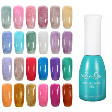 Furs Velvet Charming LED UV Soak Off Nail Art Gel Polish 24 Colors Special Design