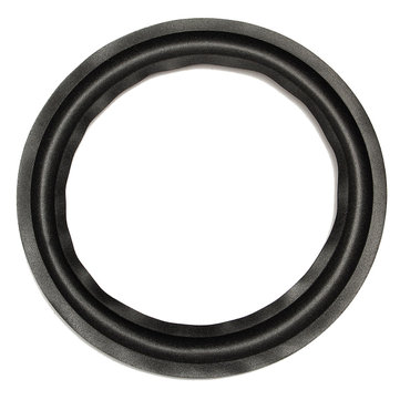 Black 10 Inch Speaker Surround Decorative Circle Repair Foam For Bass Woofer