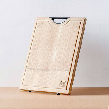 Xiaomi MIJIA Thick Antibacterial Chopping Rectangular Natural Bamboo Board Classified Kitchen Cutting Board