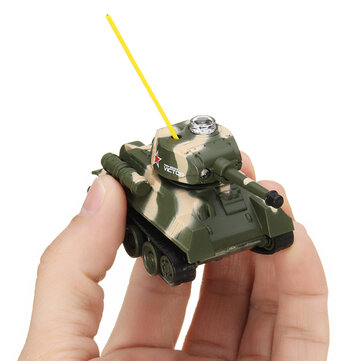 Happy Cow 777-215 Mini Radio RC Army Battle Infrared Tank With Light Model Toys For Kids Gift
