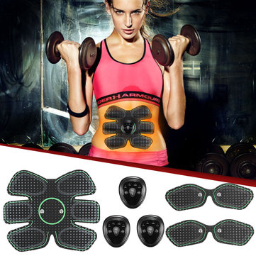 Muscle Stimulator Training Gear ABS Six Pad Body Exercise Abdominal Muscle Trainer