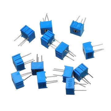 13Pcs 100R-1M Each 1 3362 Potentiometer Package 3362P Adjustable Resistor