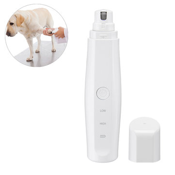 USB Electric Pet Claw Toe Trimmer Dog Cat Nail Clipper Tools Outdoor Camping Hunting Pet Accessories