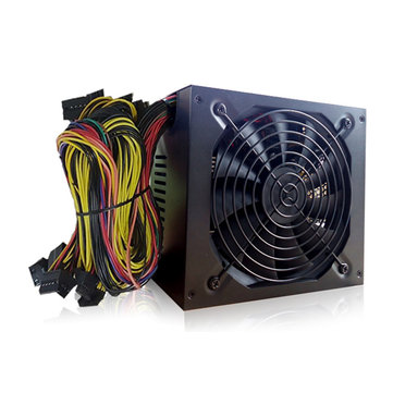 Professional 1800W Mining ATX Power Supply Miner Mining Machine SATA IDE For 6 GPU ETH BTC Ethereum