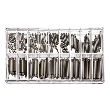 New 340 Pcs Watch Band Spring Bars Strap Link Pins