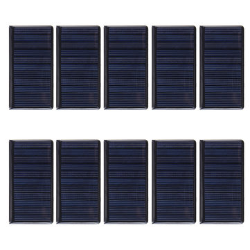 10pcs 5V 60mA Micro Solar Panel for Solar Power Mini Solar Cells DIY Electric Toy Materials