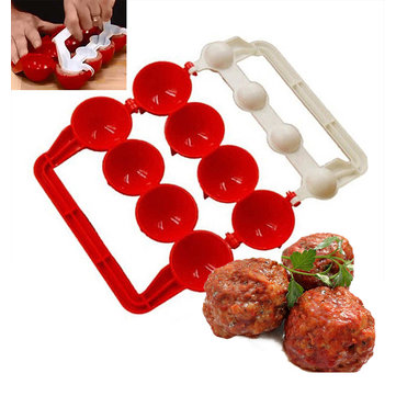 Honana KT-442 Creative Meatballs Maker Food-Grade Plastic Fish Balls Molds DIY Stuffed Meat Ball Making Tools