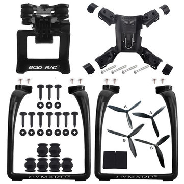 Hubsan H501S X4 AIR H501A Legs Landing Gear Gimbal Mount Camera Holder Bracket Propeller Spare Part