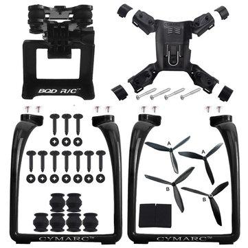 Hubsan H501S X4 AIR H501A Legs Landing Gear Gimbal Mount Camera Holder Bracket Propeller Spare Part