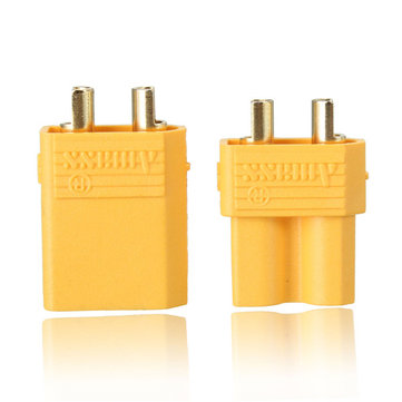 10 Pairs XT30 2mm Golden Male Female Non-slip Plug Interface Connector