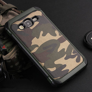 NX CASE Camouflage Shockproof Cover TPU PC Back Case Protective Shell for Samsung Galaxy J5 2015