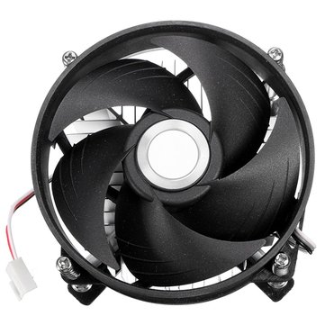 Aluminium Heat Sink Fan For 30W 50W 100W LED Bulb Cooling Cooler 12V