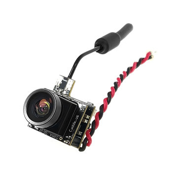 Caddx Beetle V1 5.8Ghz 48CH 25mW CMOS 800TVL 170 Degree Mini FPV Camera AIO LED Light For RC Drone