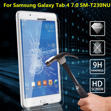Explosion Proof Tempered Glass Film Screen Protector For Samsung Galaxy Tab 4 7.0 SM-T230NU