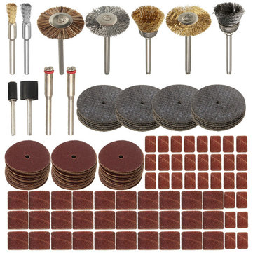 151pcs Rotary Tool Accessories Set for Dremel 1/8 Inch Shank Cutting Sanding Polishing Tool