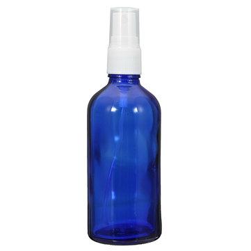 100ml Empty Blue Glass Spray Bottle Refilled Liquid Bottle Skin Care Fragrances Essential Oil