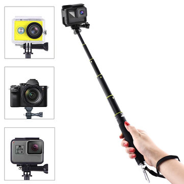 Bakeey Voice Remote Control Buckle Selfie Stick Adjustable Telescoping Monopod Pole for Gopro Hero 5
