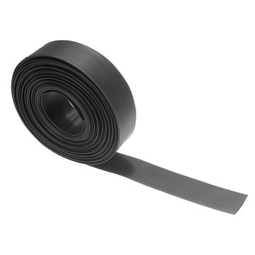 10m Black 2:1 Heat Shrink Tubing Tube Sleeve Wrap Wire Cable 15/20/25/30/35/40mm