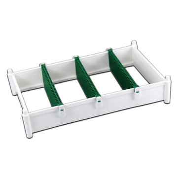 BEST BET-132 Anti-Static PCB Storage Baskets LCD Glass Rack Card Slot Board PCB board Plastic Pallet Rack