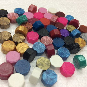 35Pcs Colorful Sealing Wax Beads Wax Seal Stamp Wedding Decor Supplies Invitation Stationer