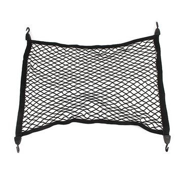 75X57CM Universal Car Luggage Bag Net Elastic Nylon Storage Bag Mesh Net With Hook