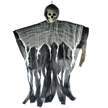 Halloween Hanging Ghost Skull Skeleton Scary Props Party Bar KTV Decorations