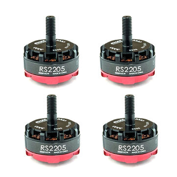 4X Emax RS2205-2300 2205 2300KV Racing Edition CW/CCW Motor For RC FPV Racing Drone