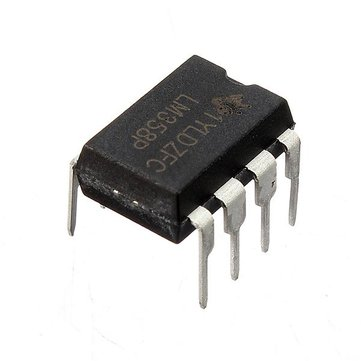 50 Pcs LM358P LM358N LM358 DIP-8 Chip IC Dual Operational Amplifier