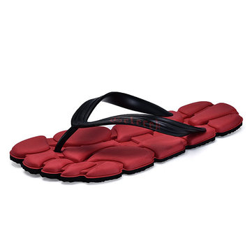 Men Summer Comfy Clip Toe Beach Slippers