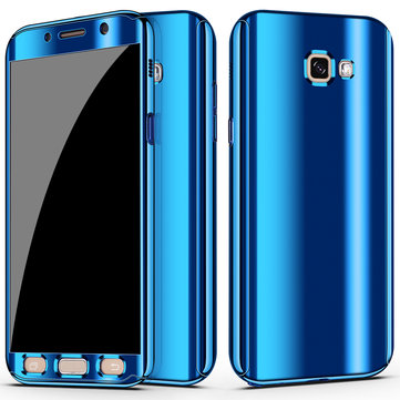 Bakeey Plating 360° Full Body PC Front+Back Cover Protective Case+HD Film For Samsung Galaxy A7 2017