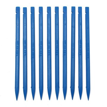 10pcs Blue Plastic Spudger Opening Repair Tool For Mobile Phone iPhone