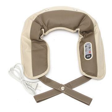 Electric 89 Modes Massager Pain Relief Heating Kneading Neck Back Shoulder Massage Cusion
