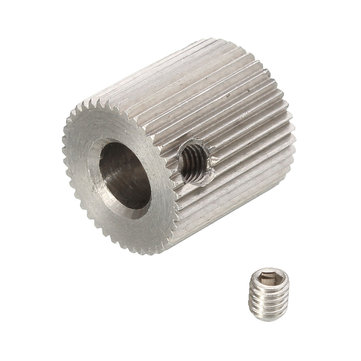 40 Teeth MK7/MK8 Stainless Steel Exturder Feeding Wheel For 3D Printer