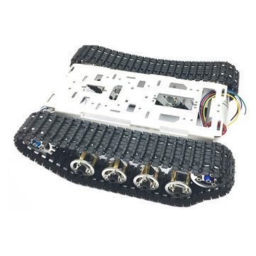DIY A-15 2WD Aluminous Smart RC Robot Car Chassis Kit With 1:46 DC Gear Motor