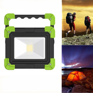 10W Portable Rechargeable Camping Lantern 3 Modes Emergency Work Light for Hiking Fishing
