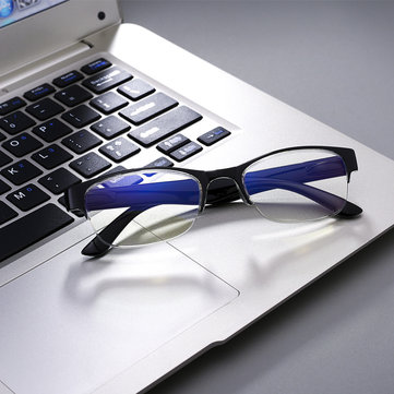 SHUAIDI® Half-frame Anti-blue Light Blue-ray PC Lightweight Presbyopic Reading Glasses 8018