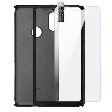Bakeey™ Full Body Shockproof Hard PC Protective Case with Tempered Glass for Xiaomi Redmi 6 Pro / Mi A2 Lite