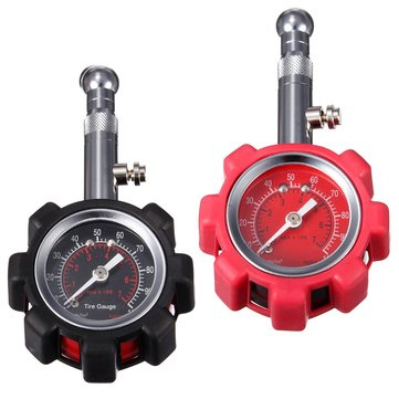 0-100PSI Motorcycle Car Tire Air Pressure Gauge Meter Tester Truck Bike