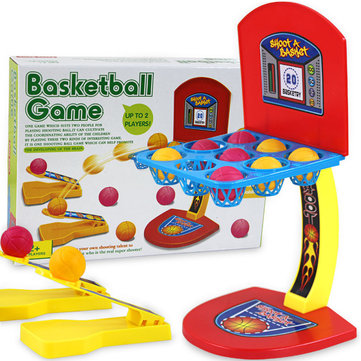 Table Desktop Basketball Shooting Machine Game One Or More Players Game Children Toys