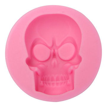 Skull Fondant Mold Silicone Mold Decorating Cake Mould