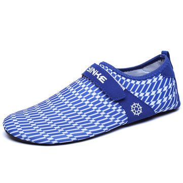 Men Quick-dry Breathable Swim Snorkeling Beach Shoes Barefoot Slip-on Walking Hiking Shoes