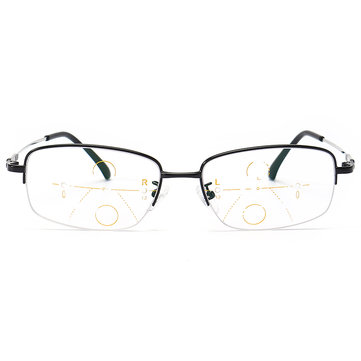 KCASA Progressive Multifocal Reading Glasses Memory Alloy Frame
