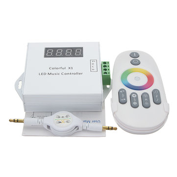 RGB LED Remote Controller Wireless RF Remote Touch Screen Dimmer For LED RGB Strip Controller