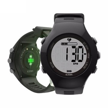 EZON T043 HR Pedometer Outdoor Gym Hiking Digital Watch