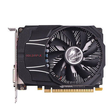 COLORFUL GTX1050Ti Mini OC 4G GDDR5 128Bit 1316-1430MHz 7Gbps PCI-E 3.0 Gaming Video Graphics Card