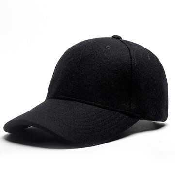 Men Outdoor Casual Plus Velvet Hairy Hat