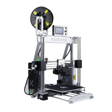 RAISCUBE® A8R Prusa I3 DIY 3D Printer Support Off-line Printing Fast Working 210x210x225mm Printing Size 1.75mm 0.4mm Nozzle