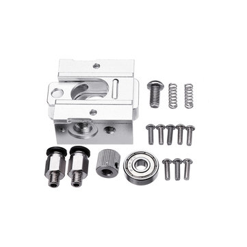 DIY Reprap Bulldog All-metal Extruder For 1.75mm Compatible J-head MK8 Extruder Remote Proximity For 3D Printer Parts